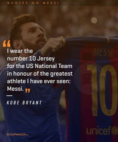 'Messi is the kind of player born once every 50 years. Messi Vs, Messi Soccer, Messi And Ronaldo, Football Jokes, Soccer Memes, Soccer Quotes, Lionel Messi Quotes, Messi Videos, Lionel Messi Barcelona