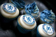 We can delivery these Football theme Birthday Cakes and Cupcakes in and around Mumbai, call us on Chelsea Football Cake, Chelsea Soccer, Club Chelsea, Chelsea Fans, Football Team, Football Theme Birthday, Soccer Birthday Parties, Chelsea Fc Wallpaper, Football Party Decorations