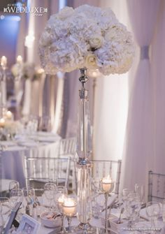 WedLuxe: beautiful wedding decor + florals by Creations By Gitta