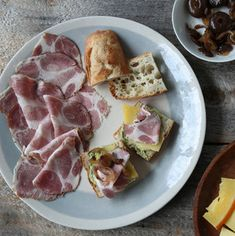 Shop our selection of Olympia Provisions and have the finest gourmet foods delivered right to your door! Gourmet Foods, Gourmet Recipes, Charcuterie Gifts, Sausages, Olympia, Pork, Cheese, Meat, Chicken