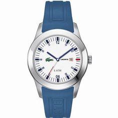 """Lacoste Advantage, uno de los nuevos diseños de la marca del """"cocodrilo"""" que sigue el estilo propio y característico de #Lacoste. http://www.todo-relojes.com/detalle.asp?codigo=23770"""