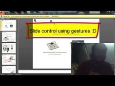 gesture contolled ppt