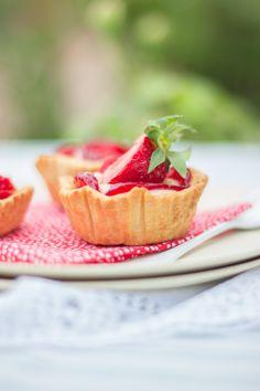Strawberry tarts recipe