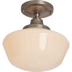 Darby Home Co Fredericksen 1 Light Semi Flush Mount & Reviews   Wayfair