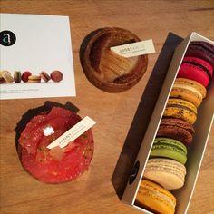 Taartjes en macarons van Joost Arijs