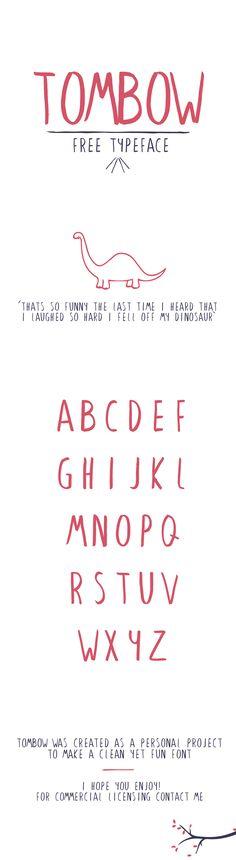 Tombow - Free Typeface on Behance
