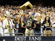 New Orleans Saints Fans #Saints #NOLA