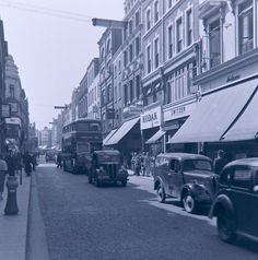 Grafton Street - Dublin 1956... brilliant shopping place today.