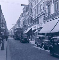 Grafton Street - Dublin 1956... brilliant shopping place today.