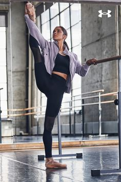 Our Misty Copeland Signature collection features ballet-inspired details, including mesh paneling and crisscross satin, to make you feel good and look great during your next training session. Ballet Inspired Fashion, Ballet Fashion, Dance Fashion, Ballet Pictures, Dance Pictures, Dance Pics, Dance Outfits, Sport Outfits, Cute Outfits