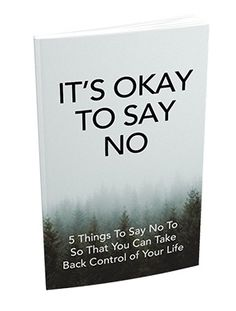 It's Okay To Say No Sales Letter, Syllable, Take Back, New Opportunities, Its Okay, It Hurts, Letters, Teaching, Feelings