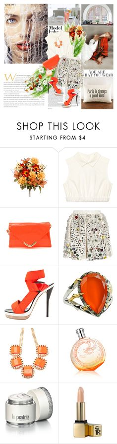 """You are beautiful, no matter what they say."" by dani-elan ❤ liked on Polyvore featuring La Femme, Dahlia, ASOS, Oxford, Dolce&Gabbana, 3.1 Phillip Lim, Elizabeth and James, Hermès, La Prairie and Sunday Riley"
