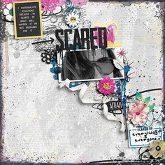 Im Scared, Shadow Box, Digital Scrapbooking, How To Find Out, Make It Yourself, Shit Happens, Gallery, Creative, Sweet