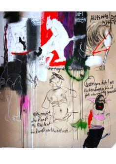 "Saatchi Art Artist ZORRO MM; Drawing, ""Monkey police"" #art"