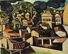Smoke over Vallauris - Pablo Picasso