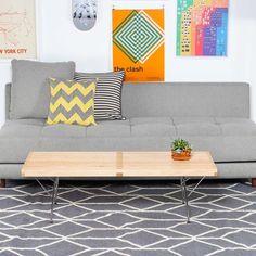 Grey rug - £595