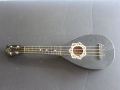 Antique Favilla Pineapple Shaped Hawaiian Ukulele