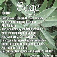 Sage uses...