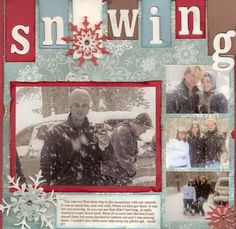 Layout: Snowing