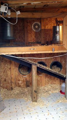 This is opposite of many other plans that include the brooder in the coop in the fact that it is on the top of the coop (where it would be warmer) and with the nest boxes underneath the brooder. I REALLY like this!