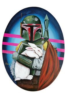{Boba Fett with White Rabbit} yes.