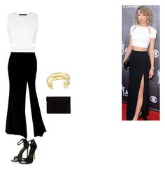 Taylor Swift inspired outfit by cannonsamiya on Polyvore featuring polyvore, fashion, style, BCBGMAXAZRIA, Elizabeth and James, women's clothing, women's fashion, women, female, woman, misses and juniors