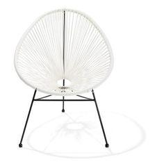 Acapulco Chair - White | Kmart