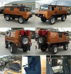 G bangin' Pinzgauer - Trucks - Carzz Steyr, 4x4 Trucks, Motorhome, Off Road Camping, 4x4 Van, Offroader, Bug Out Vehicle, Cool Vans, Volkswagen