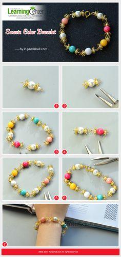 Bracelet en perles.