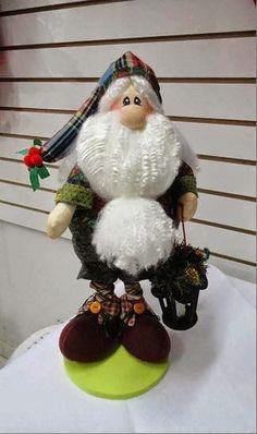 Papai Noel com moldes