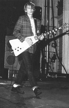 """ PIL: Keith Levene, photo by Judy Herzl, Boston 1980 """