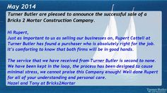 turner butler testimonials 2014 videos we sell business selling your business business successfully sold