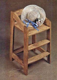 3958-High Chair Plans