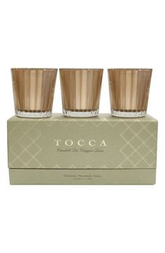 Mothers Day Gift, Mothers Day. 'Candele da Viaggio' Candle Trio available at #Nordstrom