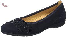 Fashion, Ballerines Femme, Bleu (Pazifik 16), 35 EUGabor