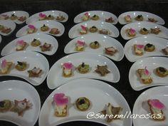 1.Timbalitos: palmito, laulau y huevas de pescado de chef Tamara Rodríguez.