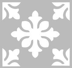 Трафарет Клей 20 х 20 см ГЛИНЫ КОРОЛЕВСКАЯ
