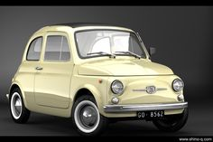 Fiat old school covertible