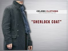 Sherlock Holmes Coat is made to enhance your personality with the touch of detective look. Have this Benedict Cumberbatch Holmes Coat in your wardrobe. Sherlock Holmes Costume, Sherlock Coat, Benedict Cumberbatch Sherlock, Winter Season, Celebs, Costumes, Sweaters, Gifts, Clothes
