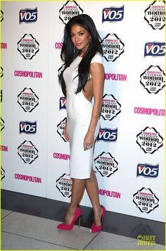 Nicole Scherzinger Cosmopoilitan Ultimate Woman of the Year Awards!