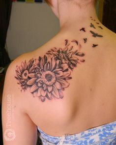 Watercolor Gerber Daisy Tattoo - voitures-americaines.info