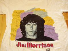 Jim Morrison American Poet Doors TShirt  Dead Stock by Donobob, $50.00