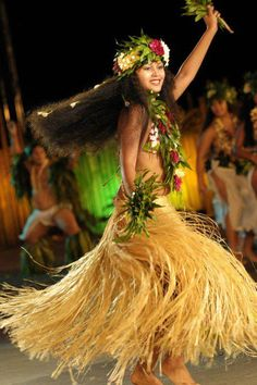I used to tear it up on the stage. My sister did longer than I but oh how I miss it so..... Tahitian dance