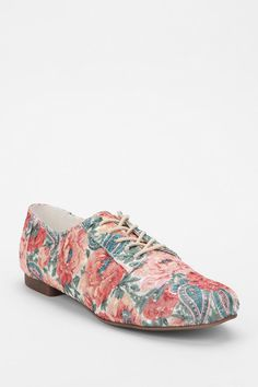 Kimchi Blue - Embroidered Eyelet Oxford - Coral