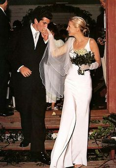 john f. kennedy jr. & carolyn bessette