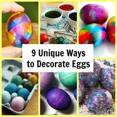 9 Unique Ways to Decorate Eggs for Easter