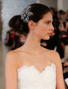 10 Wedding Hair Ideas From Bridal Fashion Week - Daily Makeover