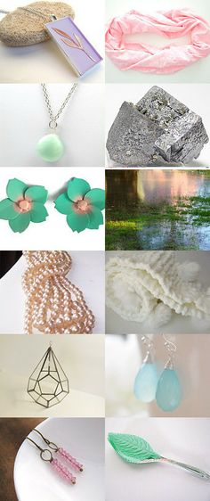 Colors of Spring by Gisela on Etsy--Pinned with TreasuryPin.com