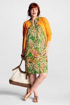landsend.com- Ok, in reality I would probably look like Mrs. Roper but in my head I am a 60s-70s Palm Beach socialite!