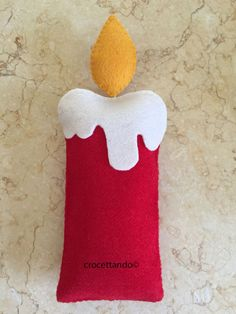 Christmas Decorations Sewing, Gingerbread Christmas Decor, Diy Felt Christmas Tree, Christmas Stocking Pattern, Christmas Crafts For Kids, Xmas Crafts, Felt Crafts, Retro Christmas, Felt Ornaments Patterns